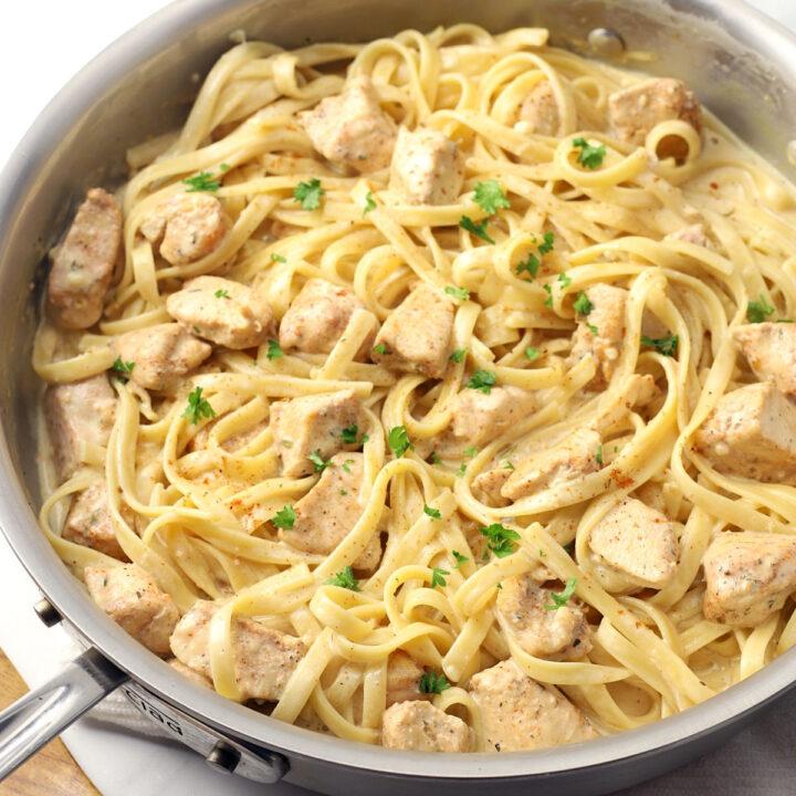 Cajun chicken alfredo recipe.