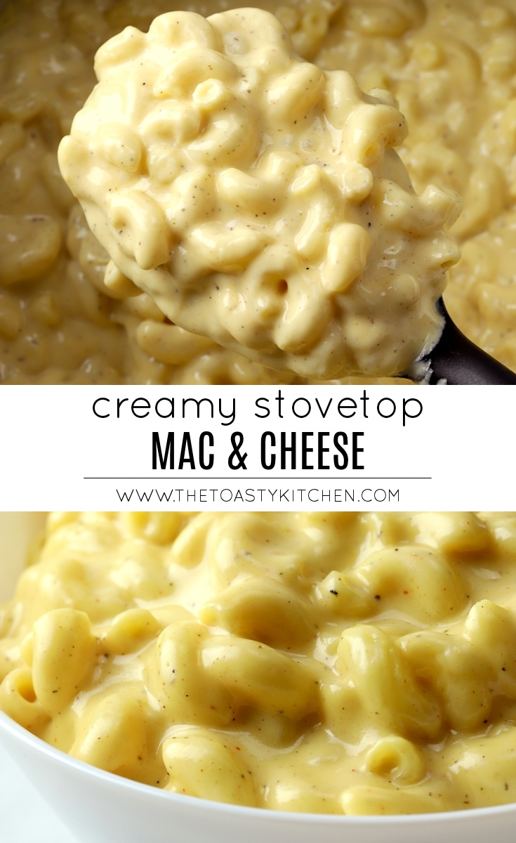 Creamy Stovetop Mac and Cheese by The Toasty Kitchen