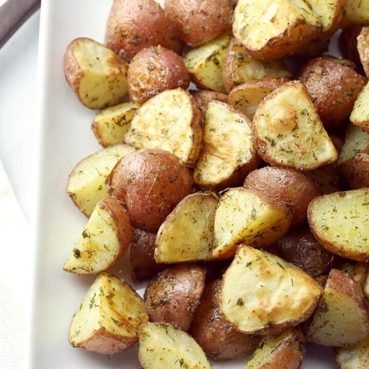 Ranch roasted potatoes recipe.