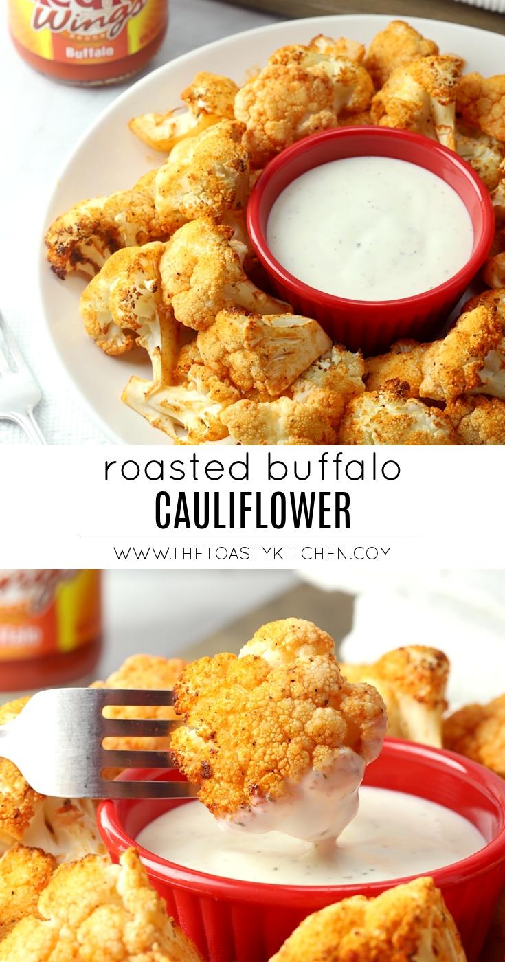 Roasted Buffalo Cauliflower by The Toasty Kitchen