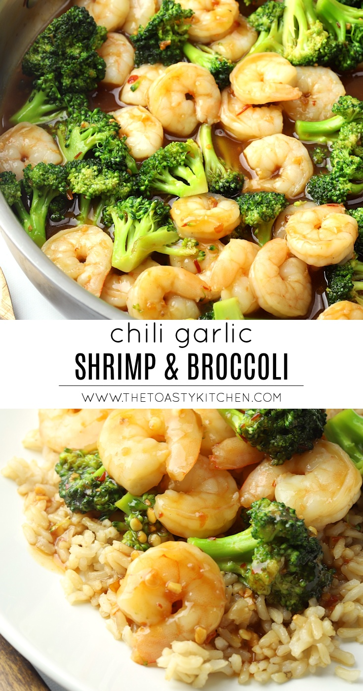 Chili Garlic Shrimp & Broccoli by The Toasty Kitchen