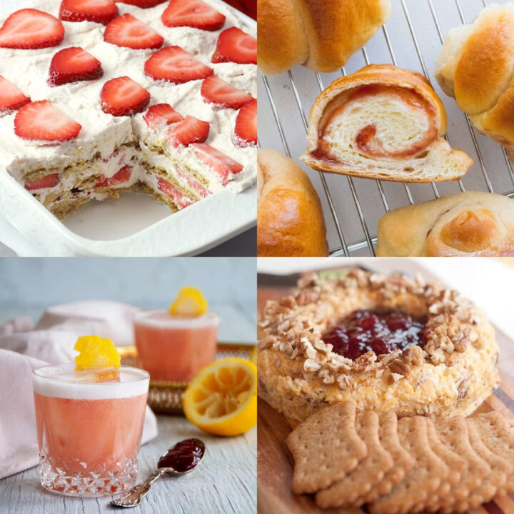 Recipes using strawberry jam.