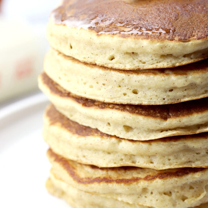 Applesauce pancakes recipe.