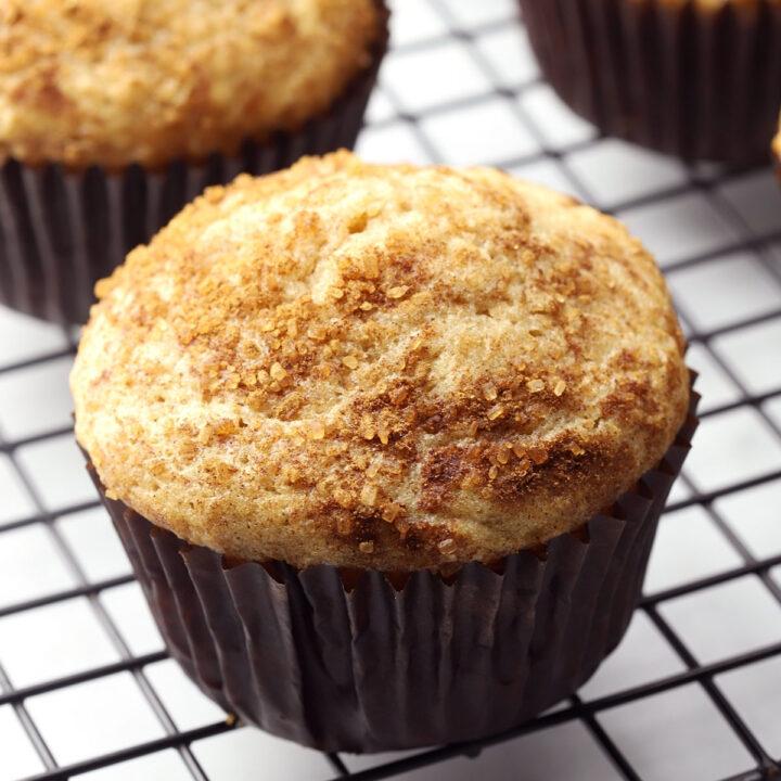 Cinnamon walnut muffins recipe.