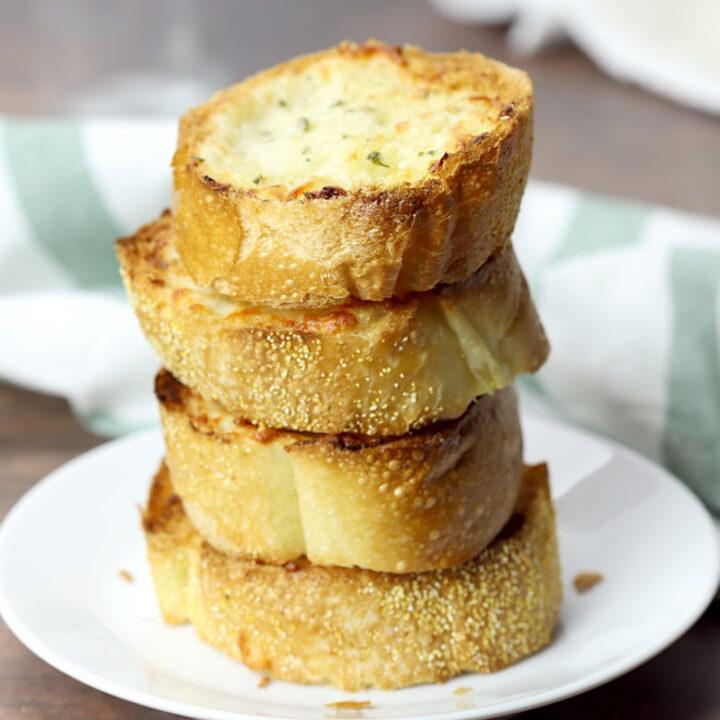 Freezer garlic bread recipe.