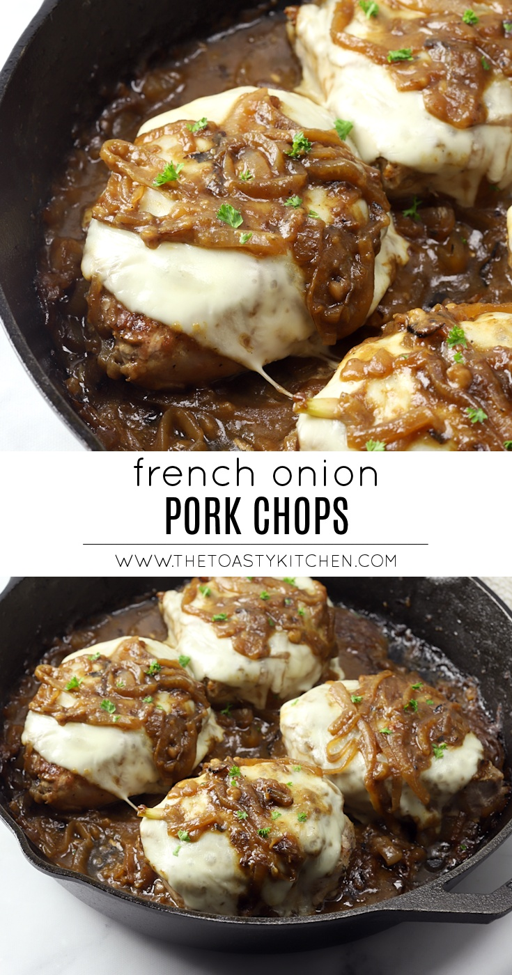 French Onion Pork Chops by The Toasty Kitchen
