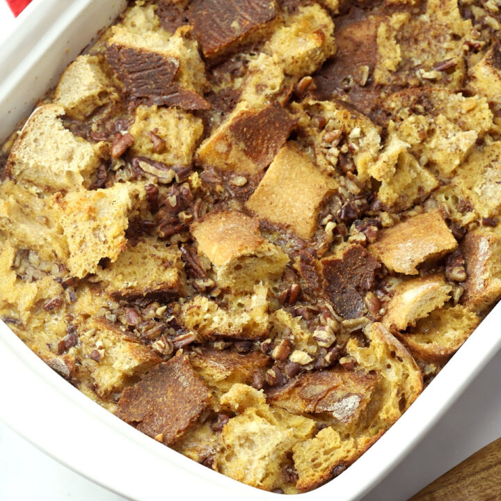 Overnight french toast casserole recipe.