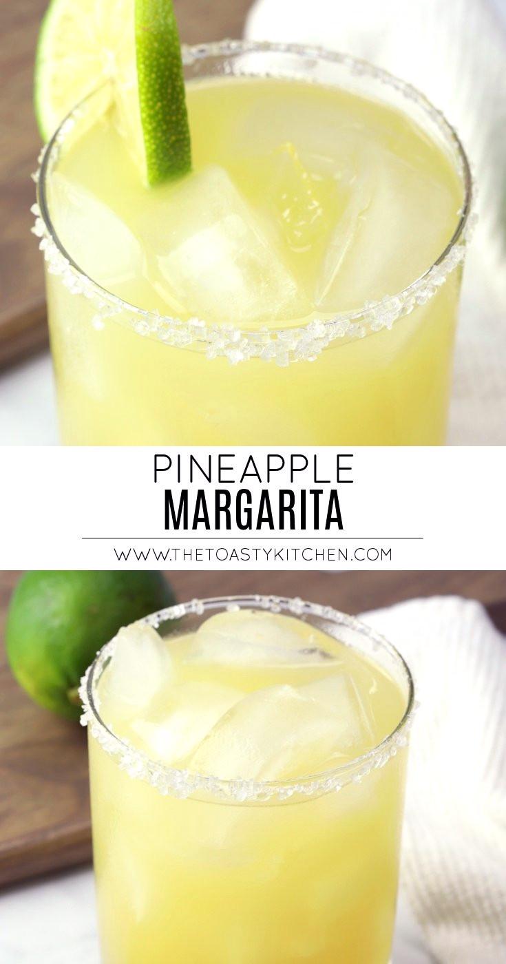 Pineapple Margarita by The Toasty Kitchen