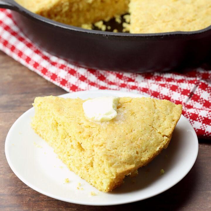 Skillet cornbread recipe.