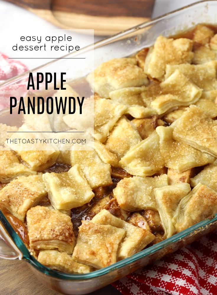 Apple Pandowdy by The Toasty Kitchen
