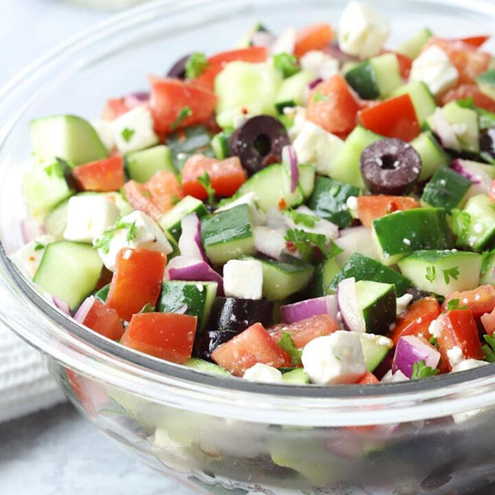 Shepherds salad recipe.