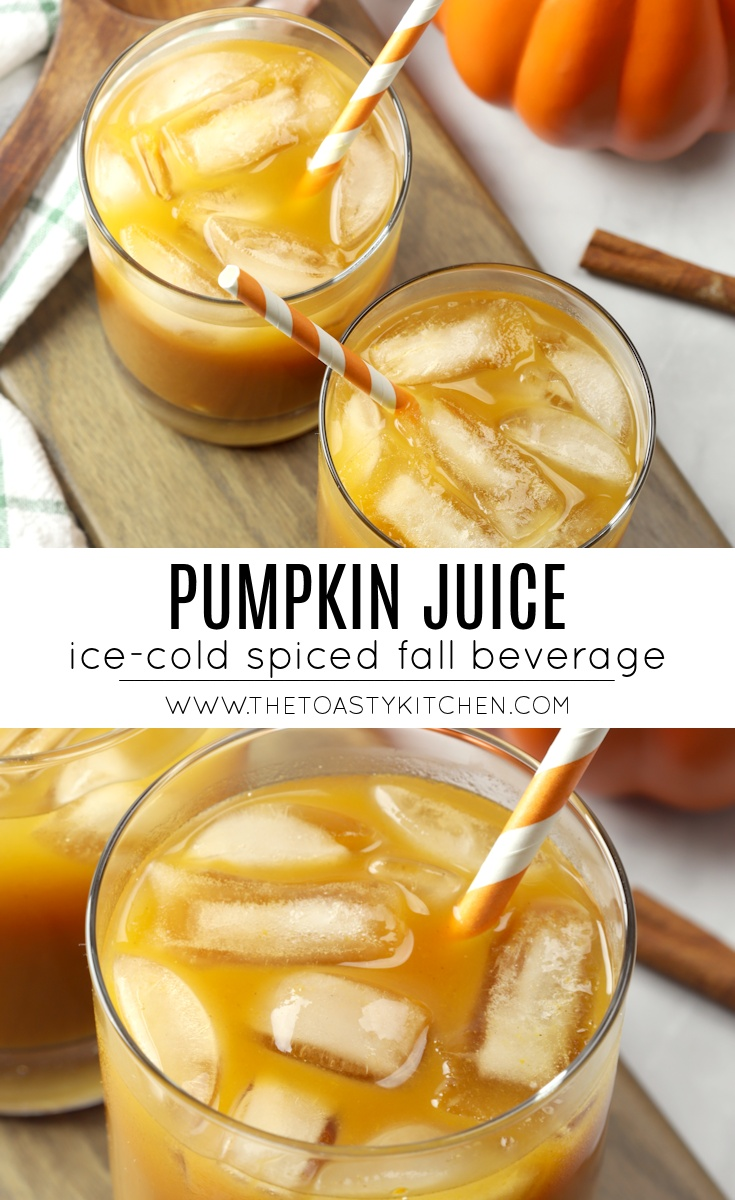 Pumpkin Juice by The Toasty Kitchen