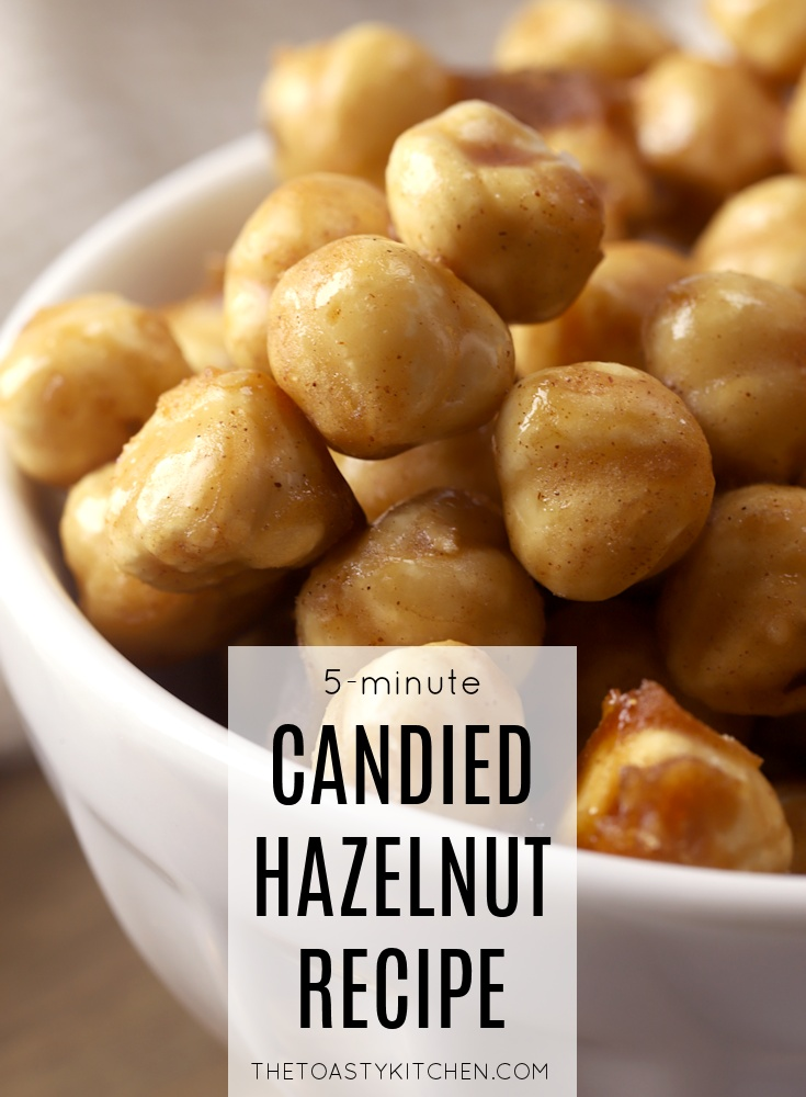 Candied Hazelnuts by The Toasty Kitchen