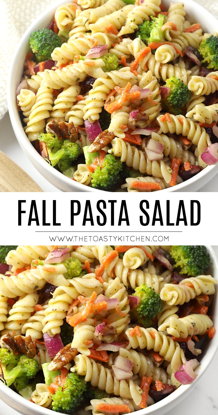 Fall Pasta Salad by The Toasty Kitchen