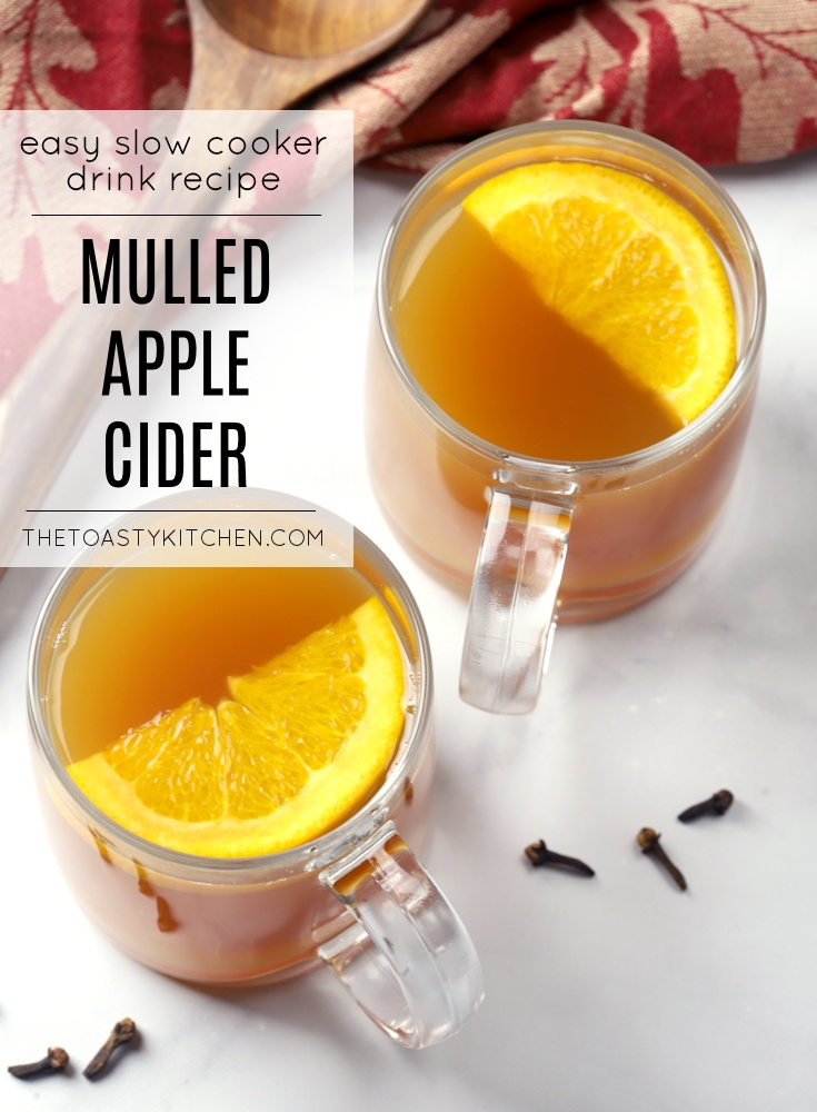 Slow Cooker Mulled Apple Cider by The Toasty Kitchen