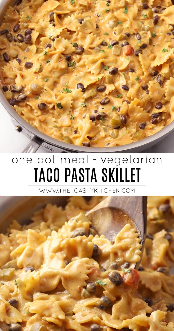 Taco Pasta Skillet by The Toasty Kitchen
