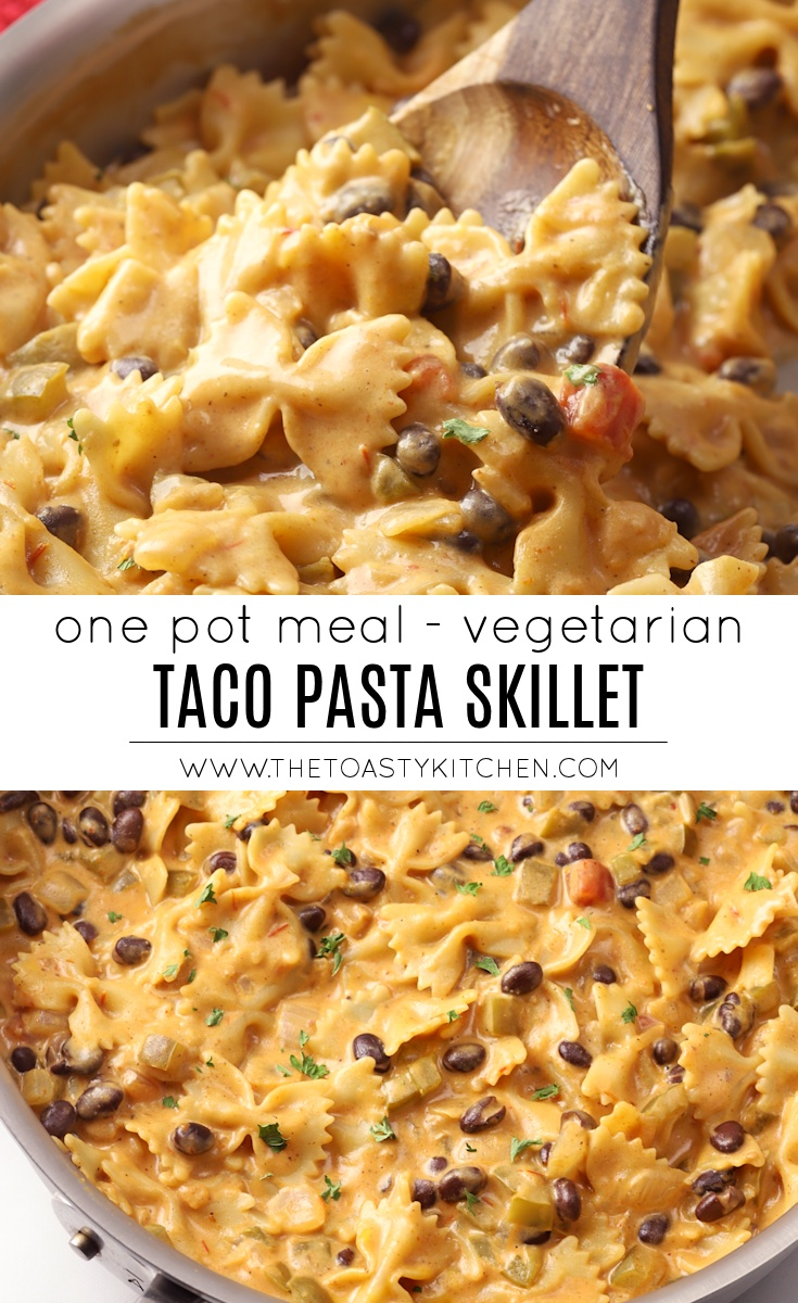 Taco Pasta Skillet by The Toasty Kitchen