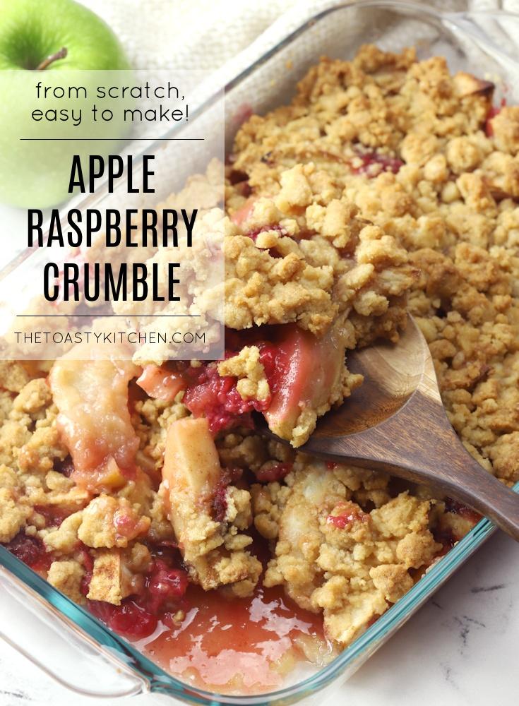 Apple Raspberry Crumble Recipe
