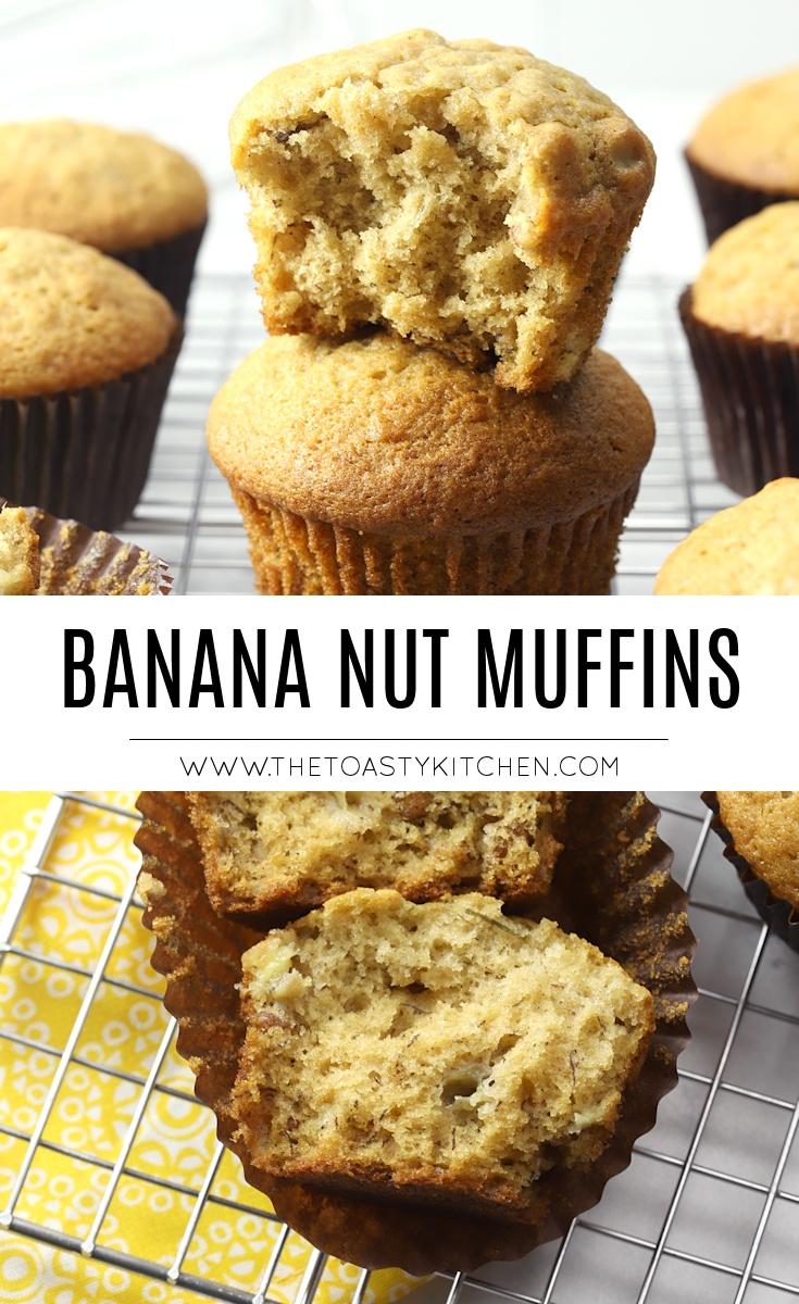 Banana nut muffin recipe.