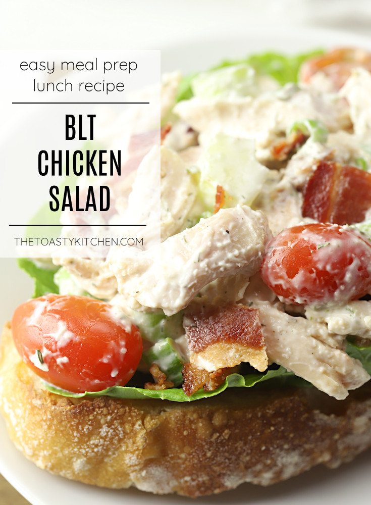 BLT chicken salad recipe.
