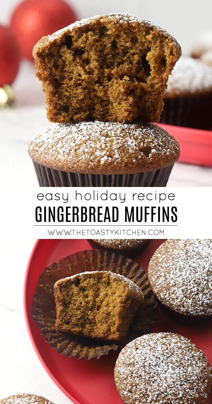 Gingerbread muffin recipe.