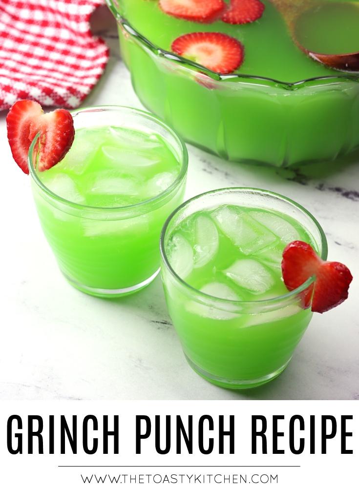 Grinch punch recipe.