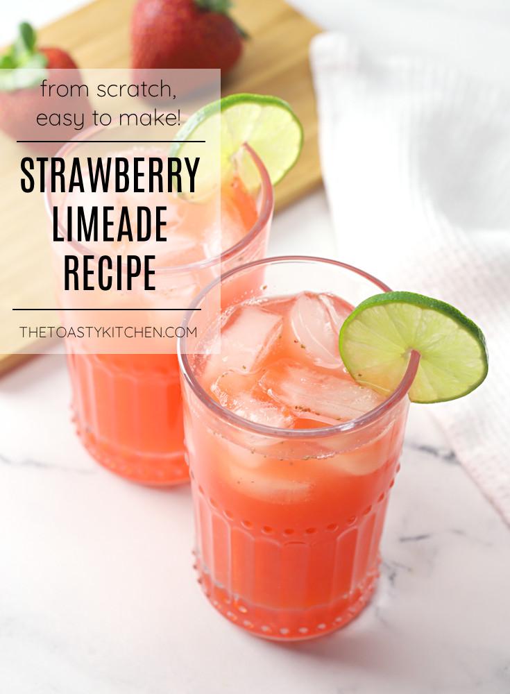 Strawberry limeade recipe.