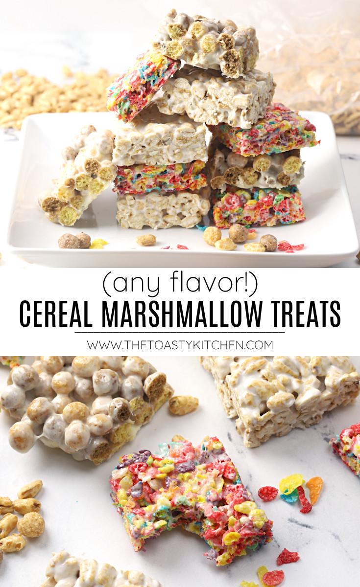 Cereal marshmallow treats recipe.