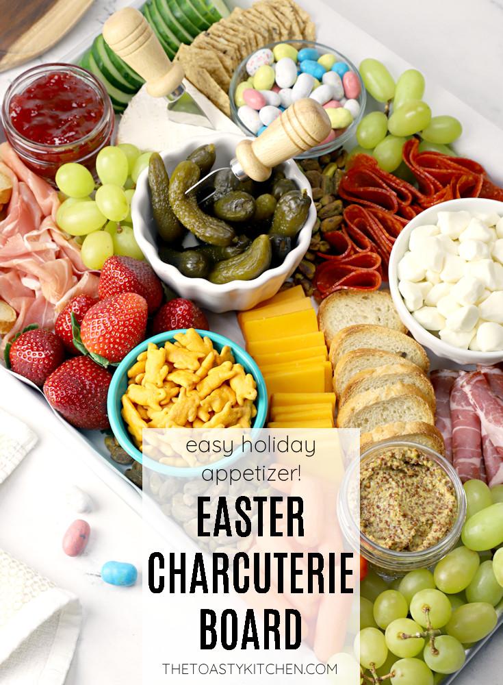 Easter charcuterie board recipe.