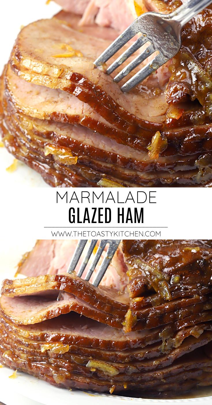 Marmalade glazed ham recipe.