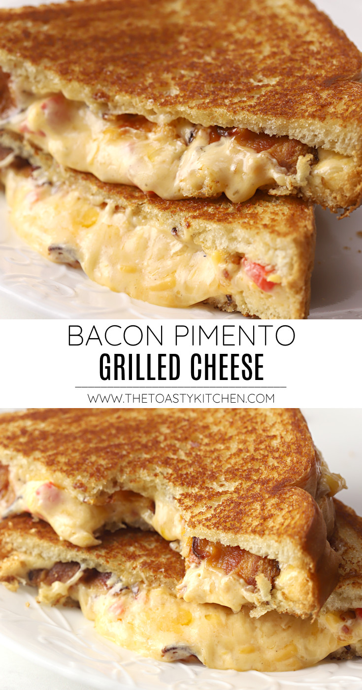 Bacon pimento grilled cheese recipe.