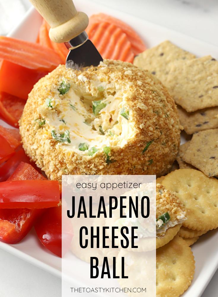 Jalapeño cheese ball recipe.