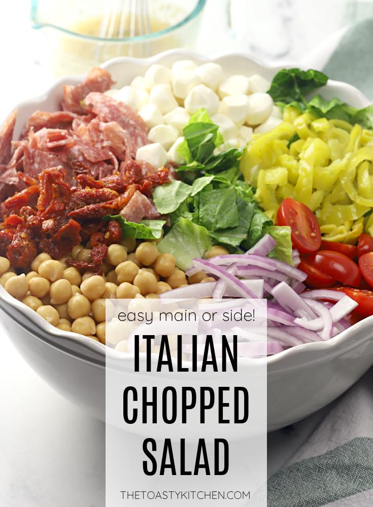 Italian chopped salad recipe.