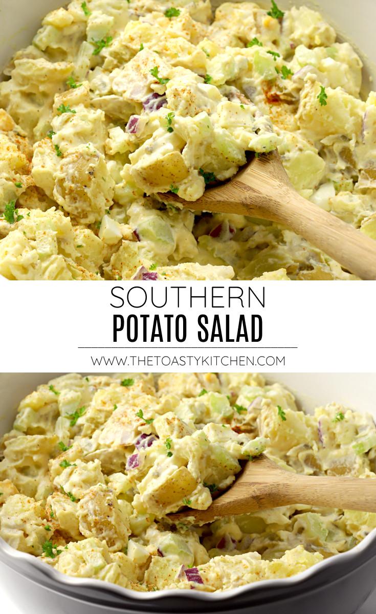 Southern potato salad recipe.