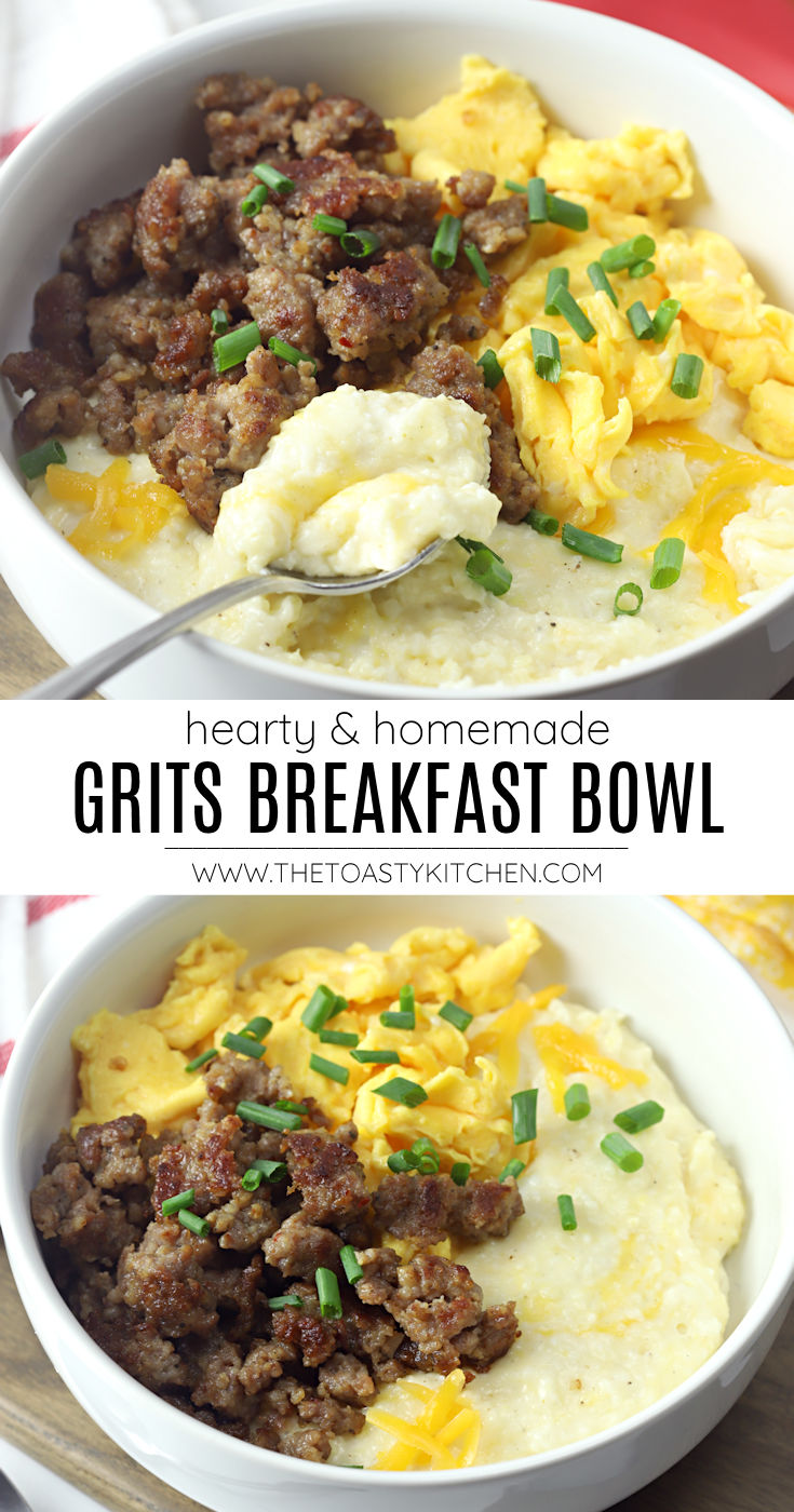 Grits breakfast bowl recipe.