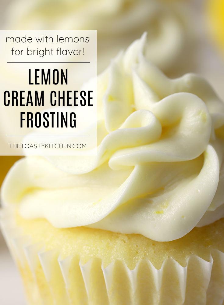 Lemon cream cheese frosting recipe.