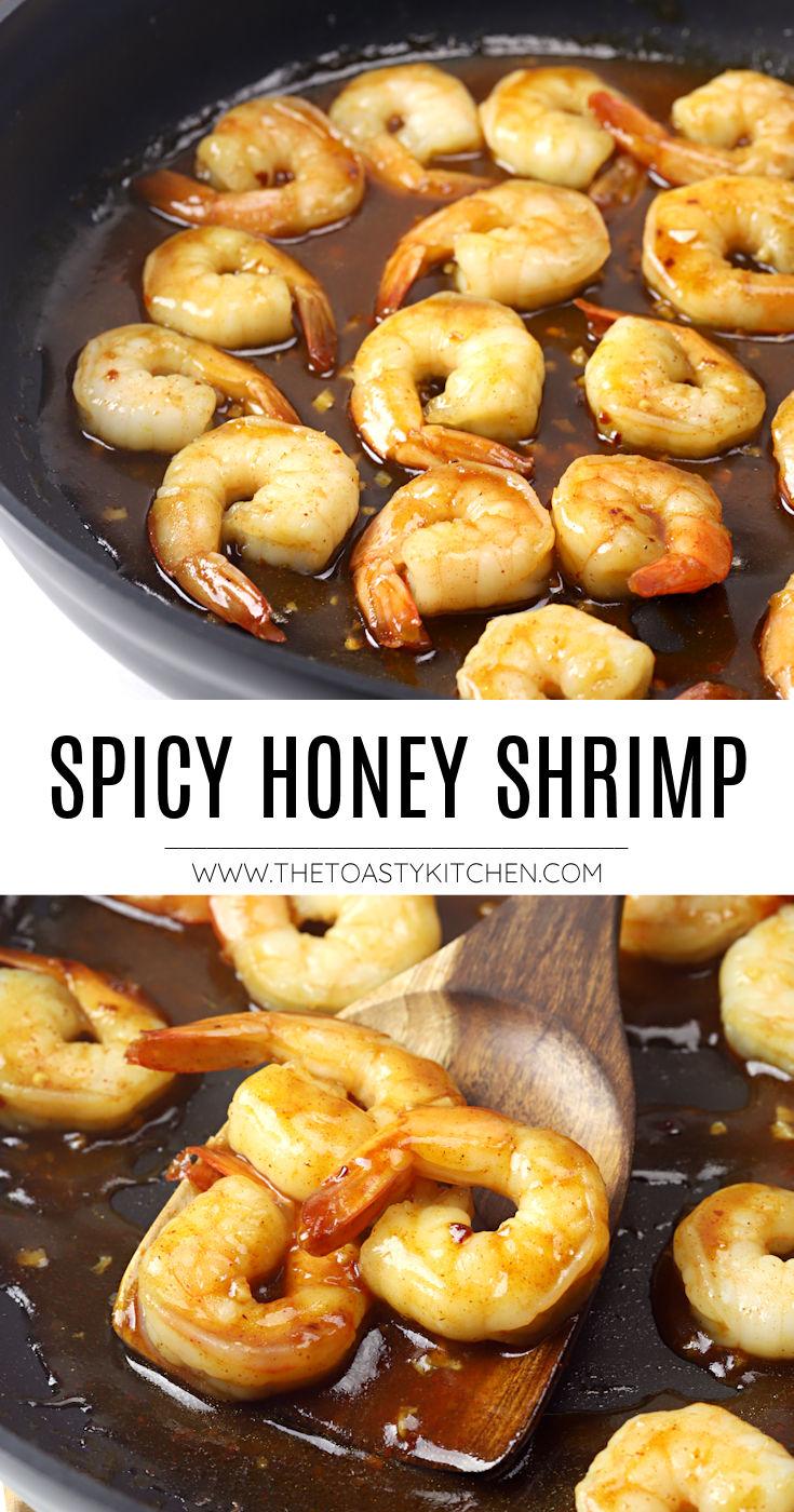 Spicy honey shrimp recipe.