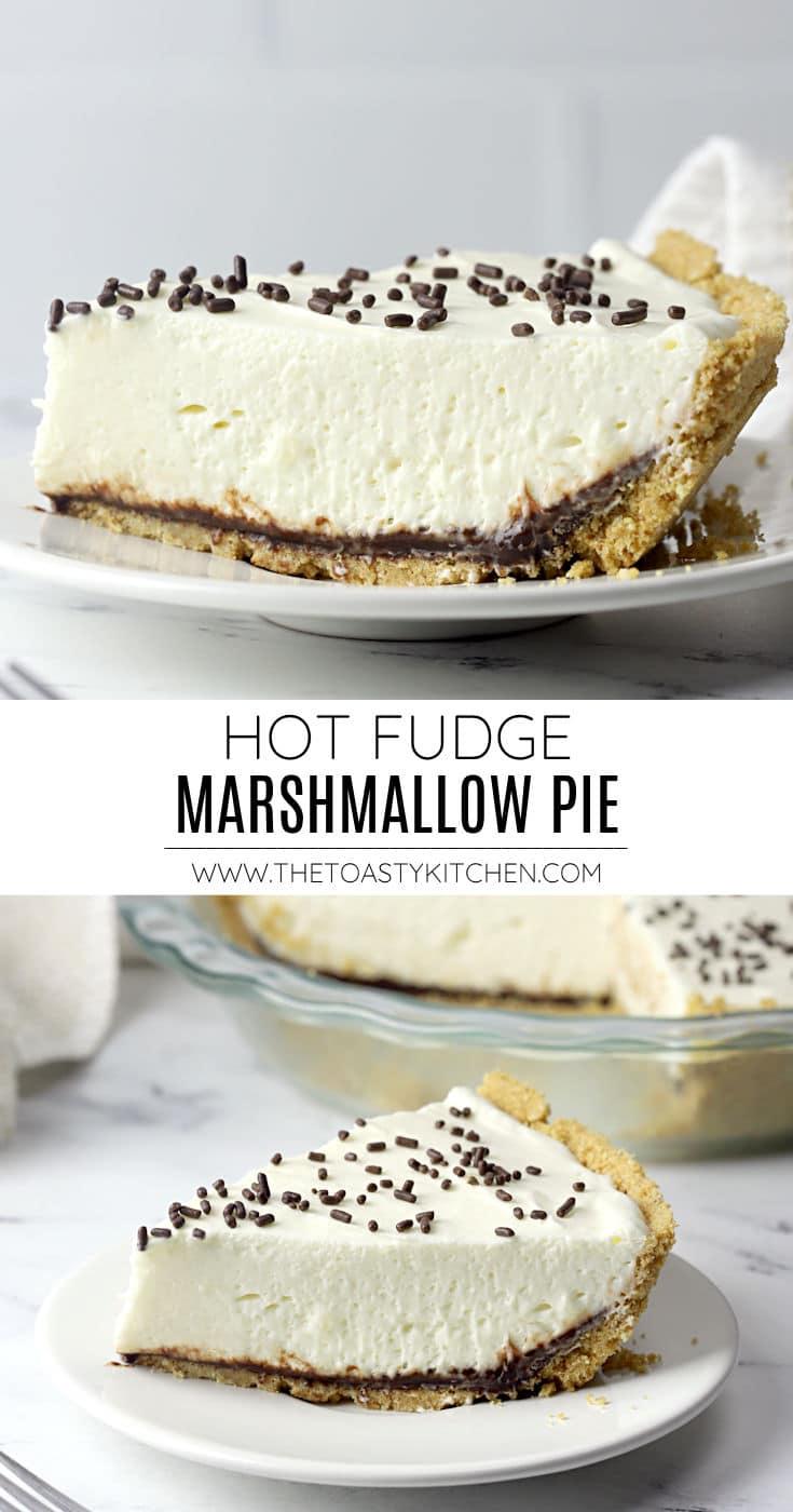 Hot fudge marshmallow pie recipe.