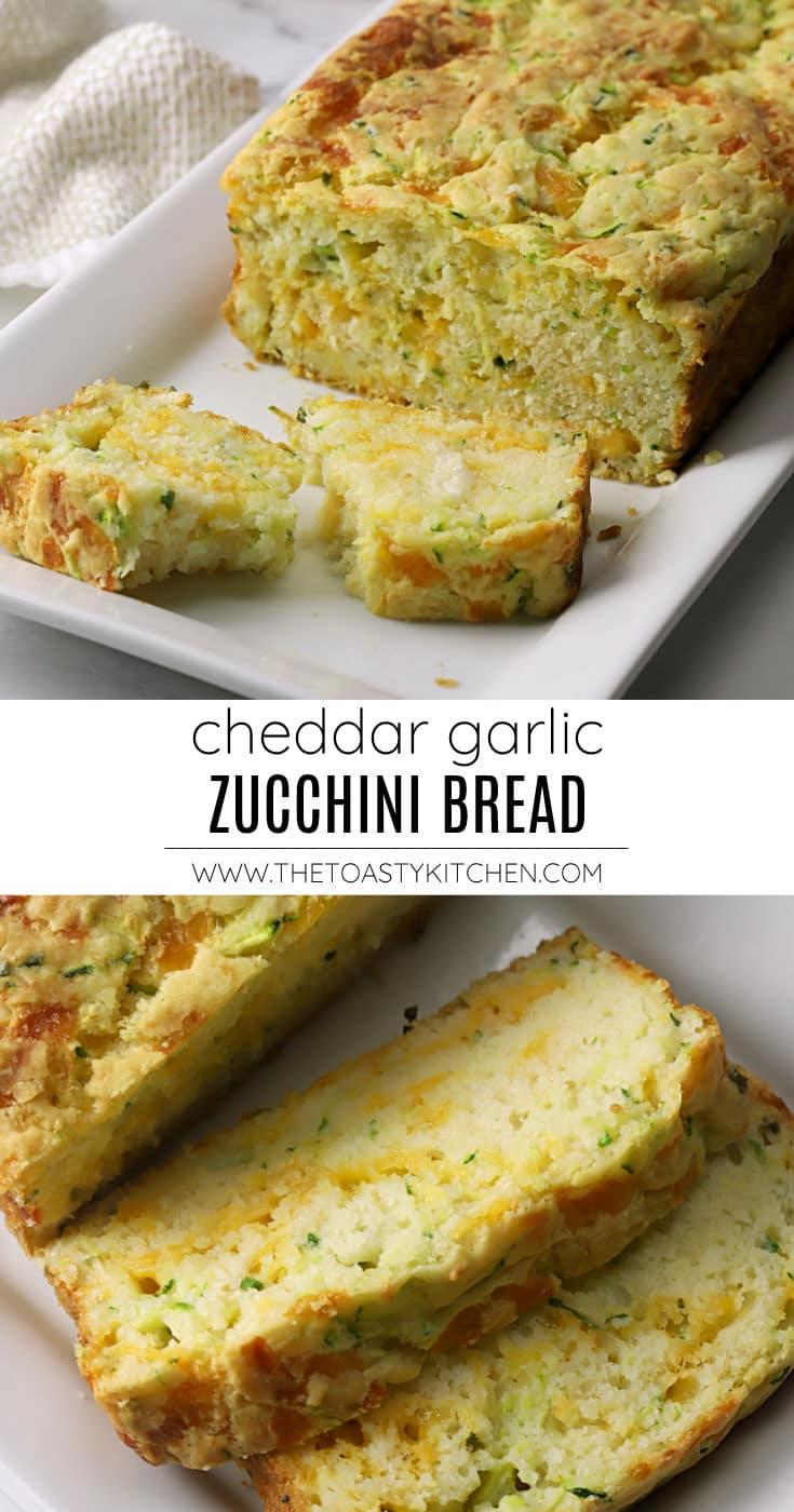 Cheddar garlic zucchini bread recipe.