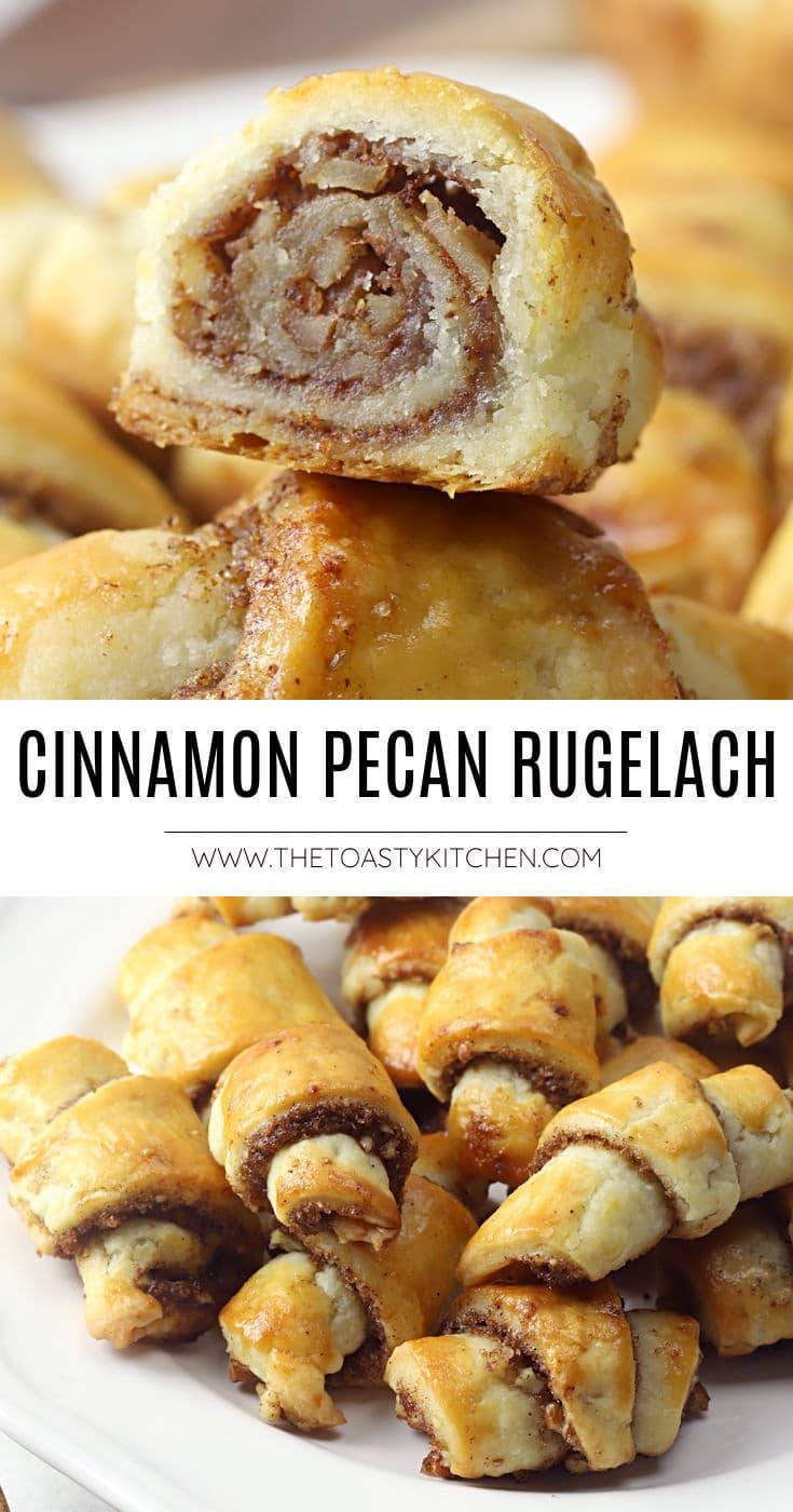 Cinnamon pecan rugelach recipe.